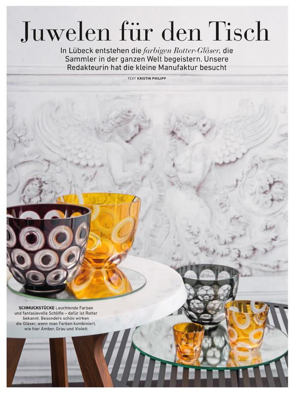 wohnideen farbe dekor, press reports about rotter glas in lübeck, Design ideen